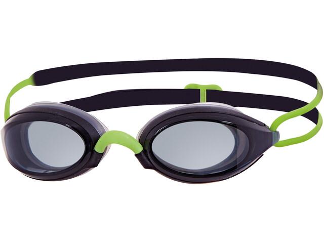 Zoggs Fusion Air Goggles, zwart/groen